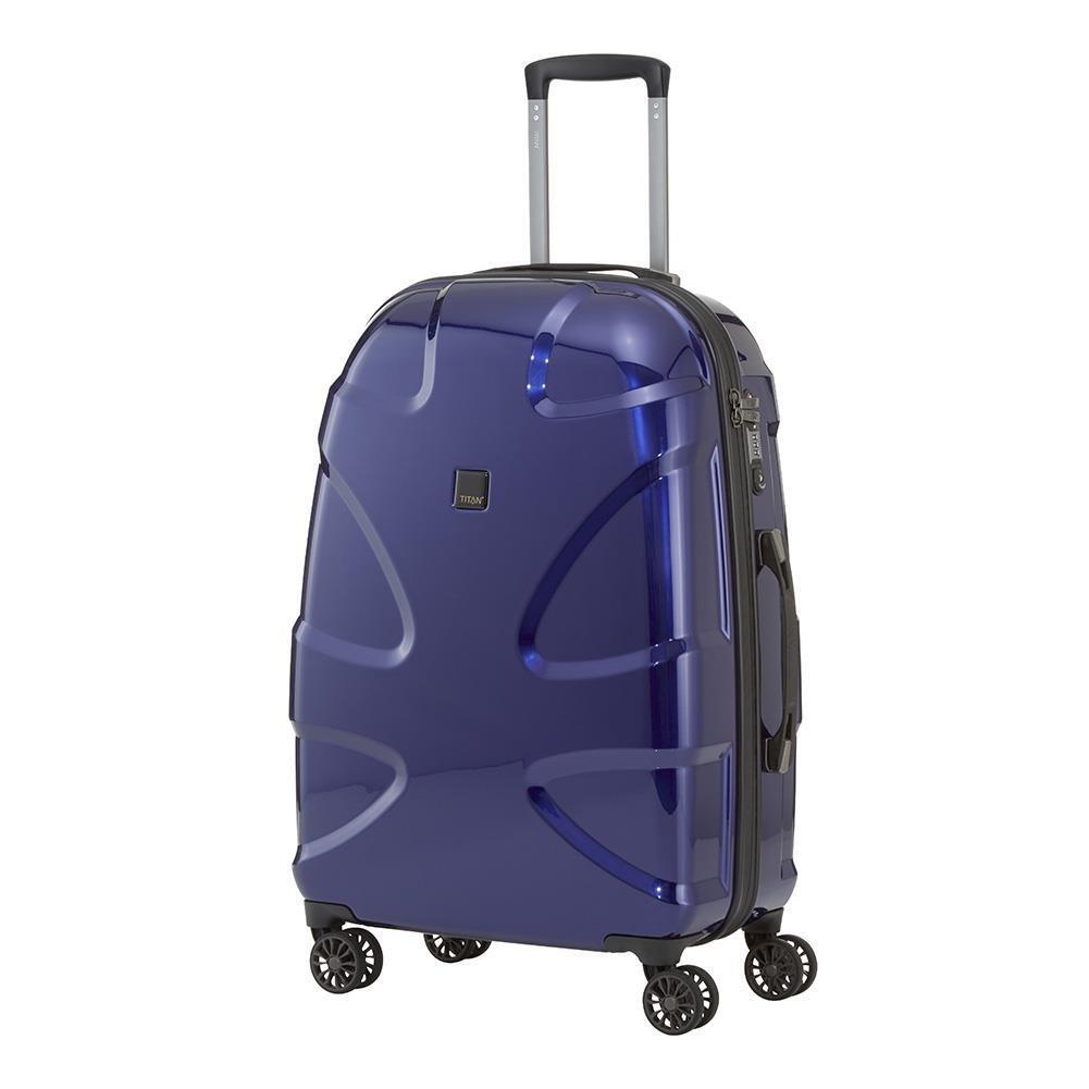 c6e3322cef34 Średnia walizka TITAN X2 FLASH 813407-20 Granatowa - granatowy