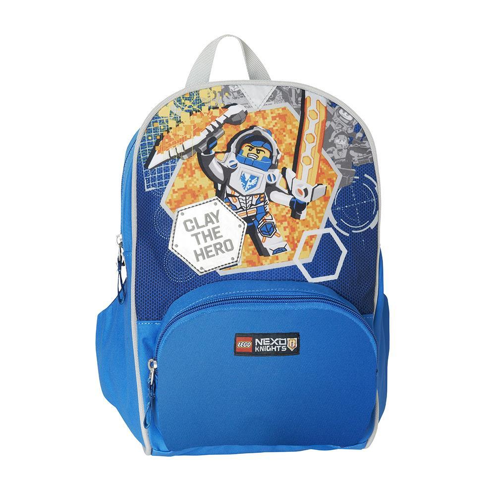 a0bbc8f5be9d4 Plecak dziecięcy LEGO Nexo Knights 20024-1708 Niebieski - niebieski