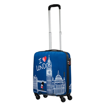 1c4df37707b53 ... Mała kabinowa walizka SAMSONITE AT Disney Legends 92699 Take Me Away  Mickey London ...