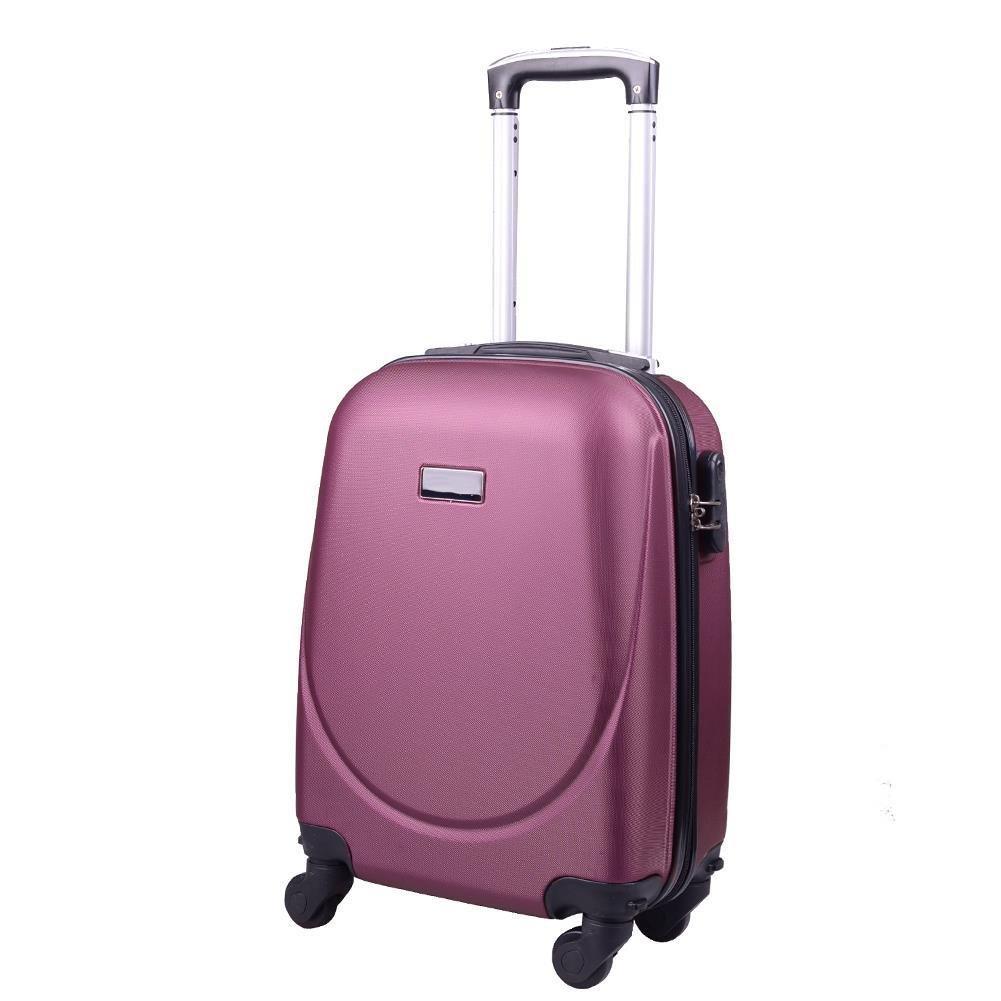 4c57476394054 ... Bardzo mała kabinowa walizka KEMER 0912 XS WizzAir Bordowa ...