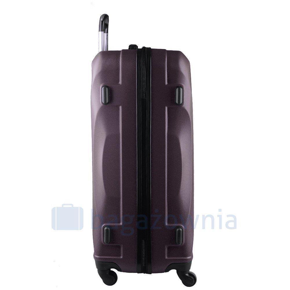 efb8faea96f21 Duża walizka KEMER 159 L Brązowa - Bagażownia.pl