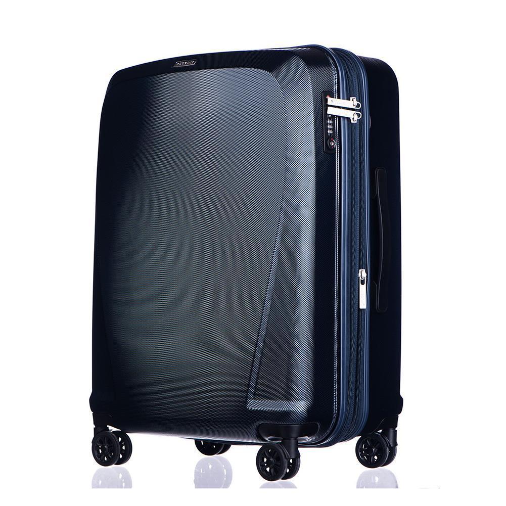 dc63394adeb66 Duża walizka PUCCINI LONDON PC019A 7 Niebieska - Bagażownia.pl