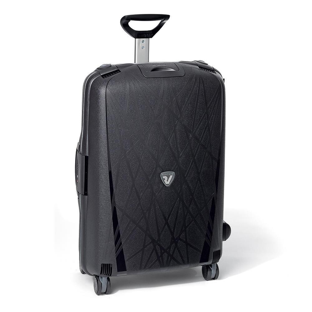 9b206dd84357f Duża walizka RONCATO LIGHT 711-01 Czarna - Bagażownia.pl