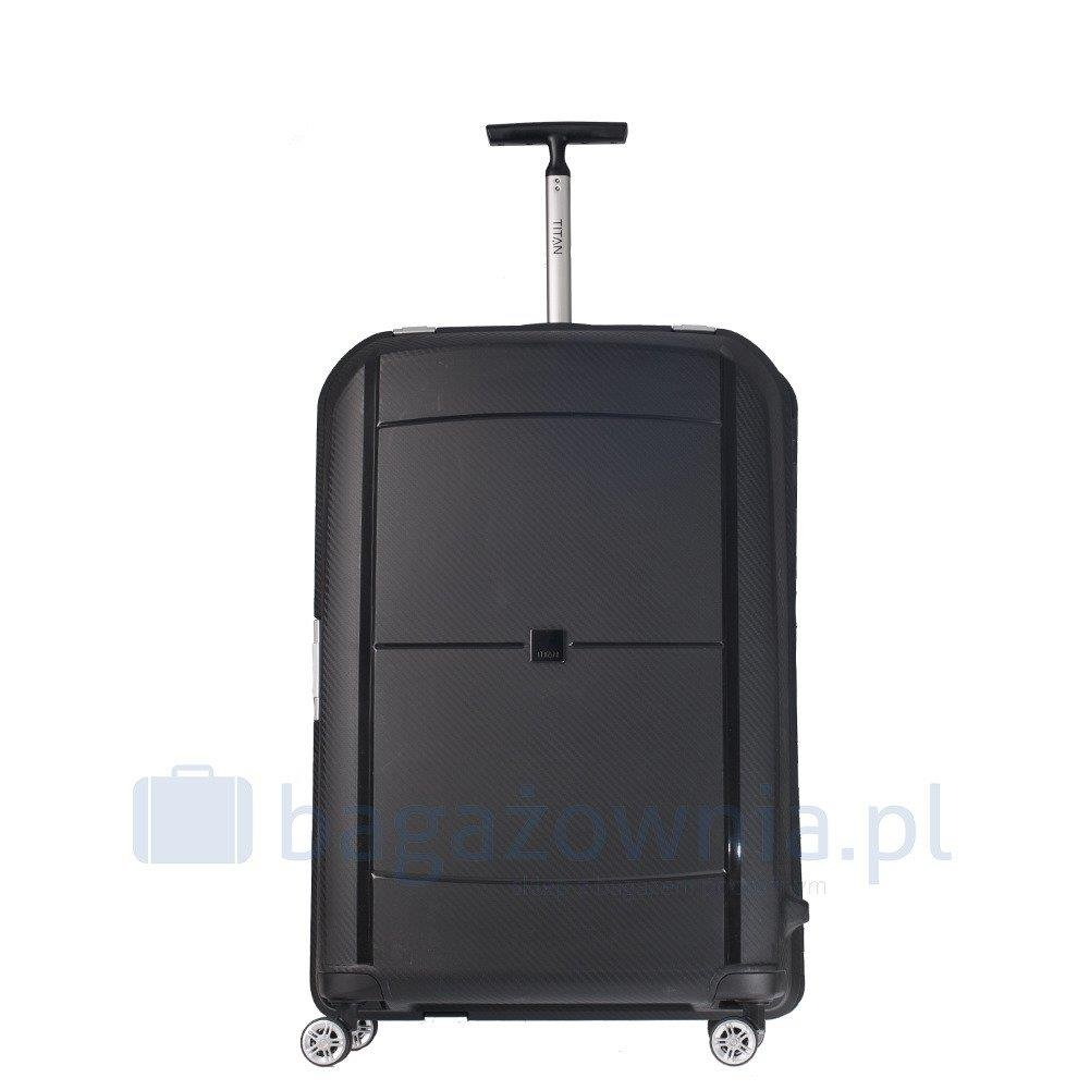 606a3a6ee7f0 Duża walizka TITAN MONO 819404-01 Czarna - Bagażownia.pl