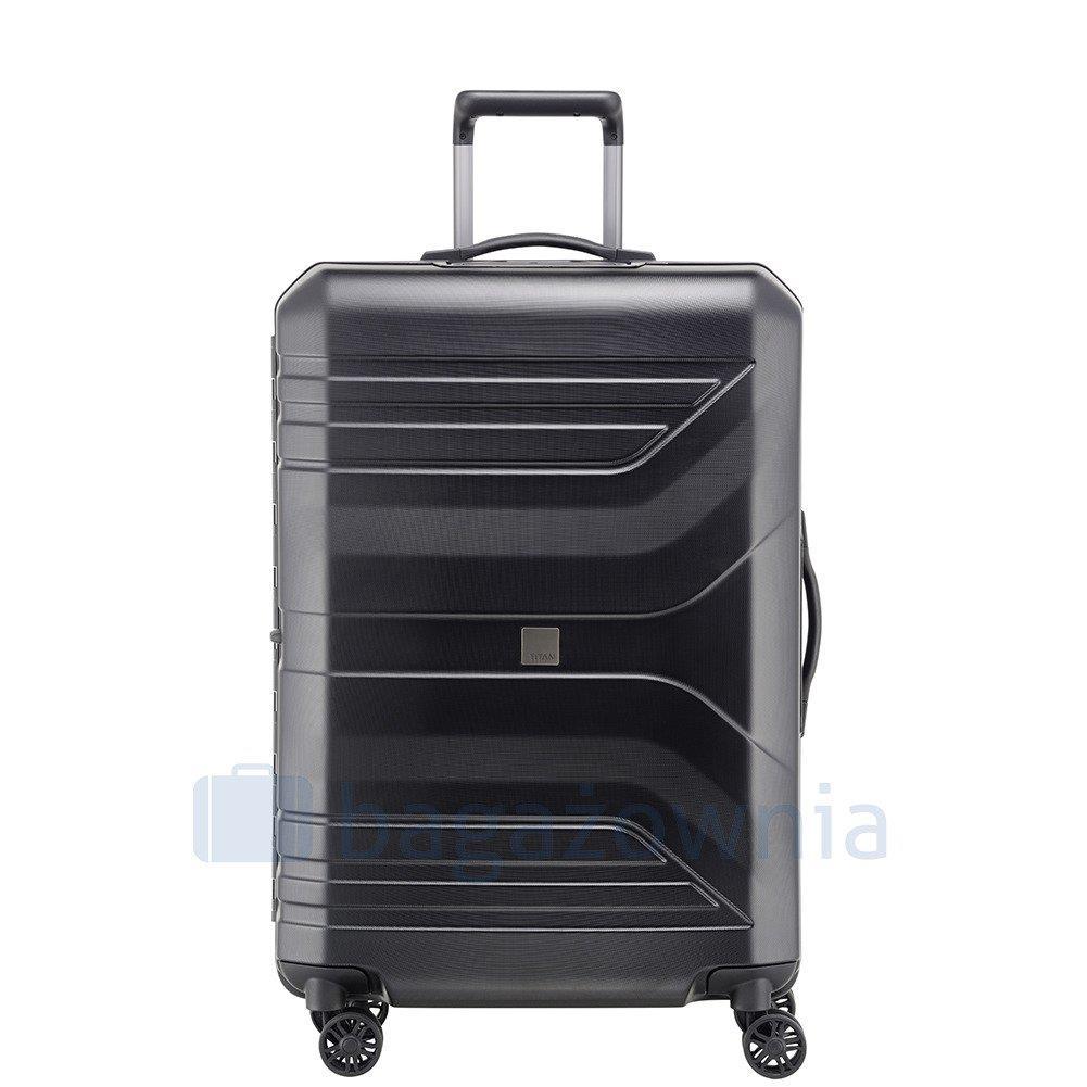c5ce0dfa889d Duża walizka TITAN PRIOR 700504-01 Czarna - Bagażownia.pl