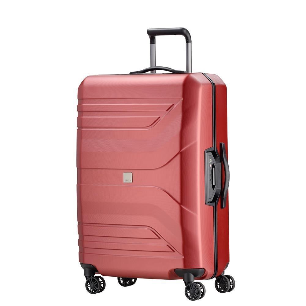 94a00201eb1a Duża walizka TITAN PRIOR 700504-11 Czerwona - Bagażownia.pl