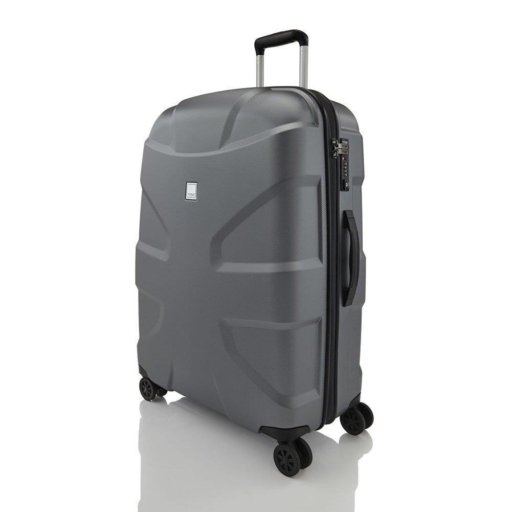 58ee57c2e55b Duża walizka TITAN X2 Shark skin 825404-85 Szara - Bagażownia.pl