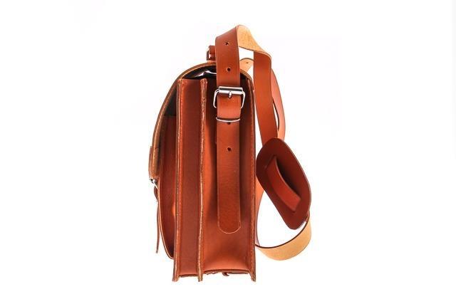 e39d9d59e4a66 Klasyczna teczka   plecak Vintage P12 koniak - Bagażownia.pl