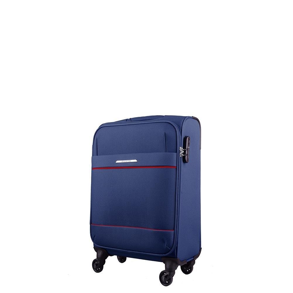 a1e722baa277 ... Mała kabinowa walizka PUCCINI PALERMO EM50340C 7 Granatowa ...