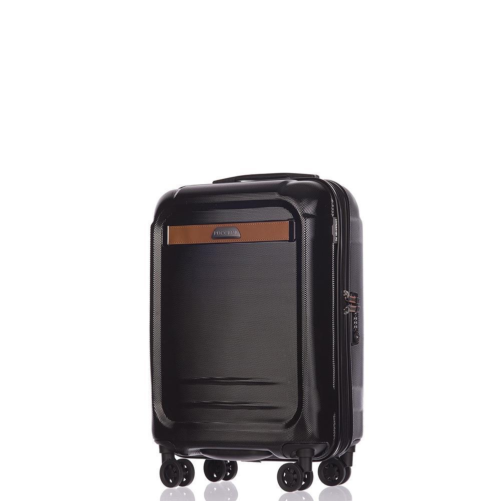 771494ae264c7 Mała kabinowa walizka PUCCINI STOCKHOLM PC020C 1 Czarna - Bagażownia.pl