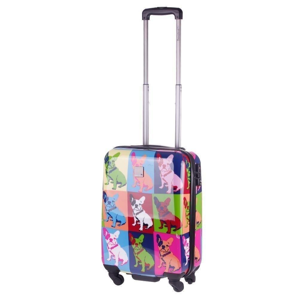 51e0f623a56a1 Mała kabinowa walizka SAXOLINE Bulldog S - Bagażownia.pl