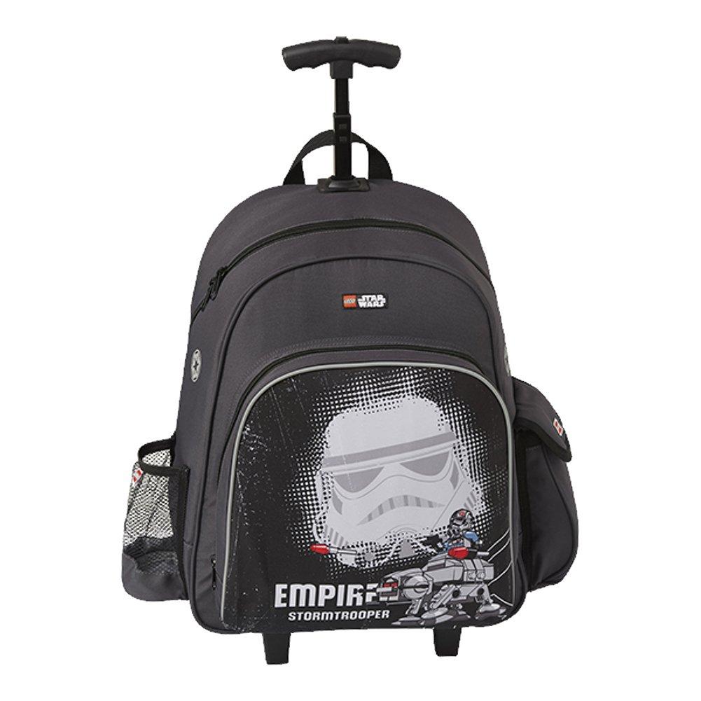 e0e7687dc73ab Plecak na kołach LEGO Star Wars Stormtrooper 10045-1829 Czarny ...