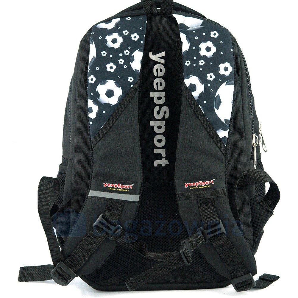 b1ea5761cdccc Plecak sportowy KEMER S114DX Czarno Biały - Bagażownia.pl
