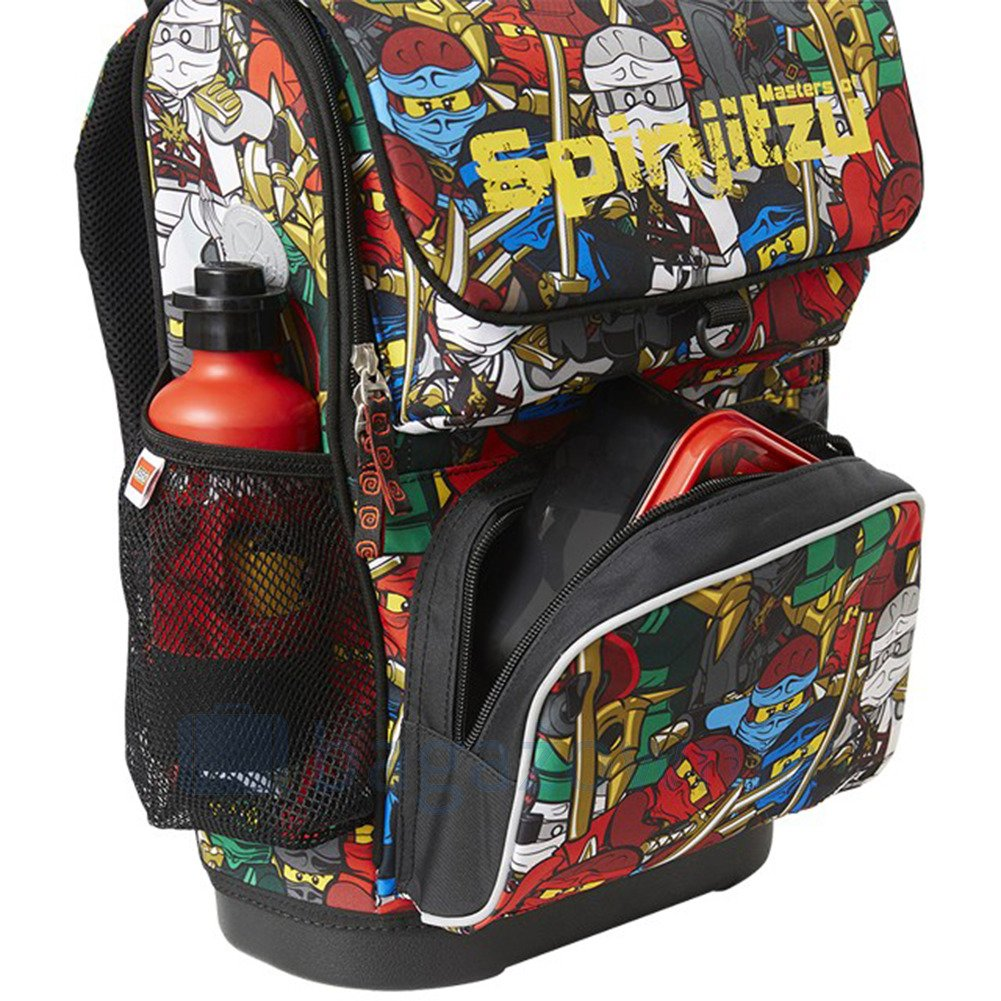 cde95c20a1395 ... Plecak szkolny z doczepianą torba LEGO Ninjago Comic Optimo 20014-1806  Multikolor ...