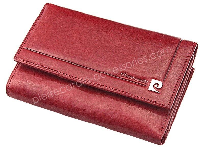 9a7bea89ea8f5 ... Portfel damski skórzany PIERRE CARDIN 507.10 356 Czerwony ...