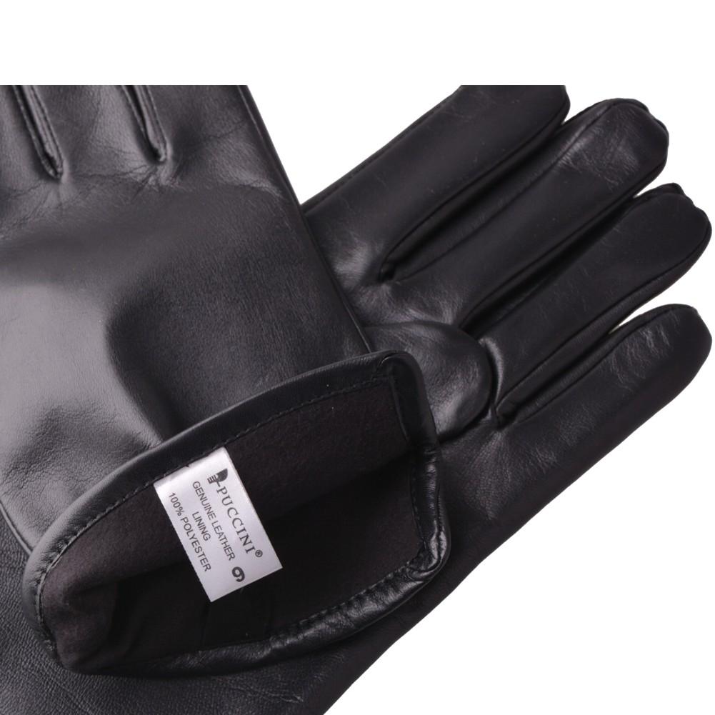 30377760d2bbe6 Rękawiczki męskie skórzane PUCCINI M 101 - Bagażownia.pl