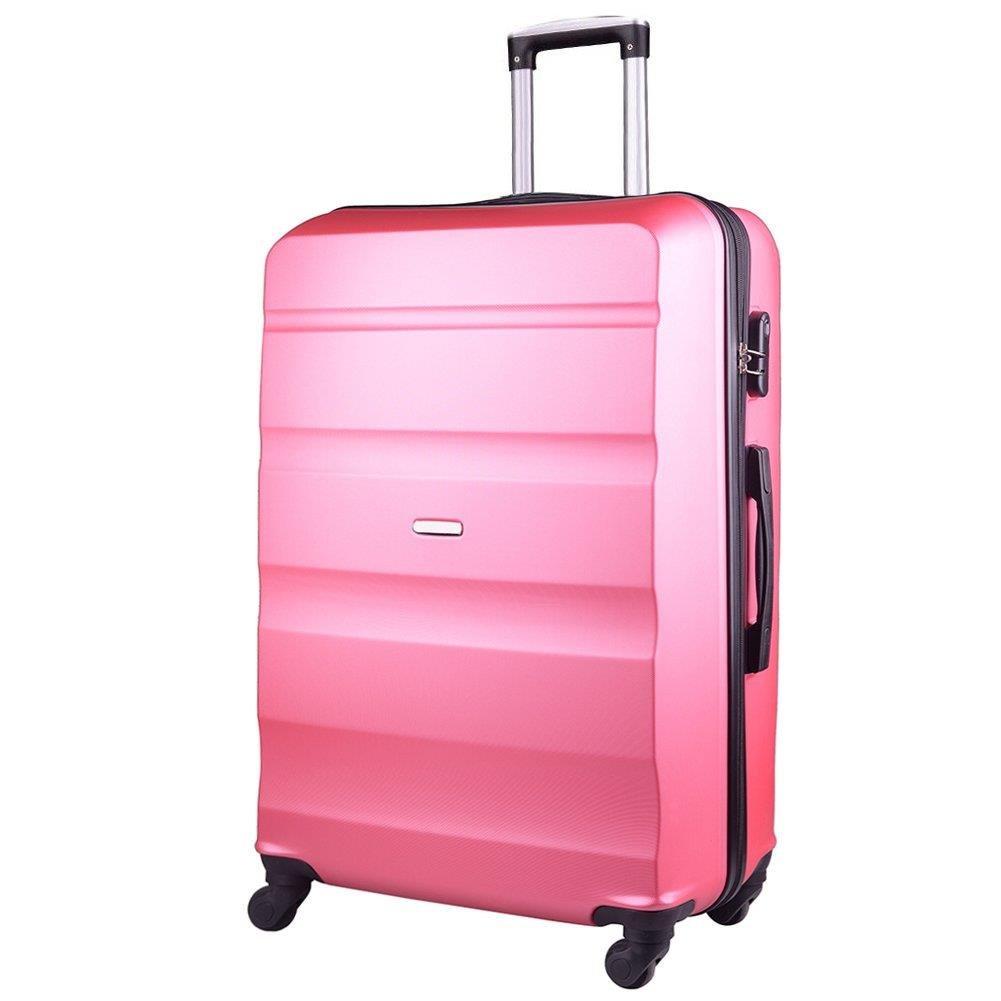 5d04b96b3b788 Średnia walizka KEMER AT01 M Różowa - Bagażownia.pl