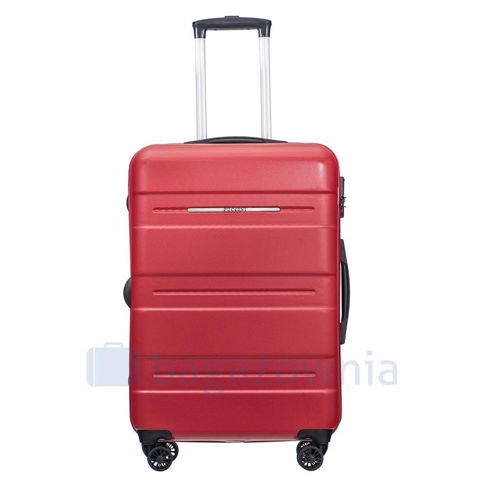 12fcbb88538e7 Średnia walizka PUCCINI ATLANTA PC025B 3 Czerwona - Bagażownia.pl