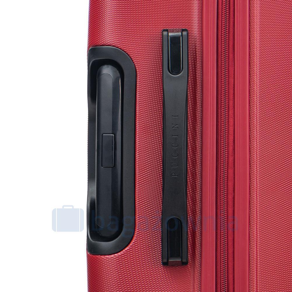 3ece4e331c966 Średnia walizka PUCCINI ATLANTA PC025B 3 Czerwona - Bagażownia.pl