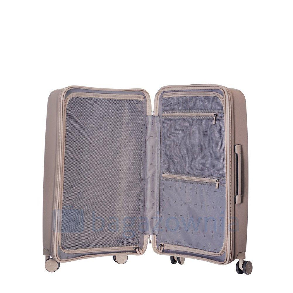 bbb6da1205de5 Średnia walizka PUCCINI DENVER PP014B 6 Beżowa - Bagażownia.pl