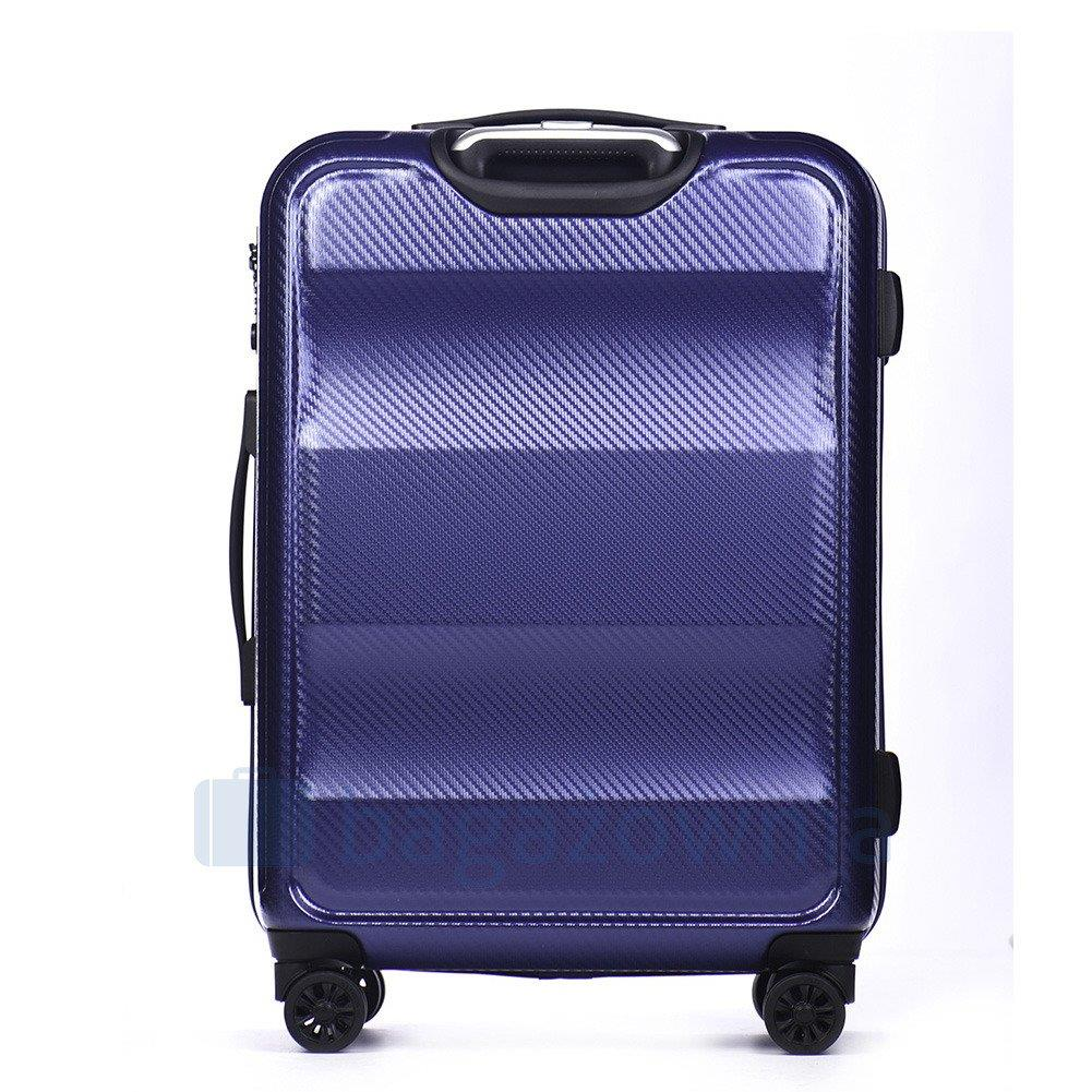 0cc1948ffda02 Średnia walizka PUCCINI NEW YORK PC017B 7 Granatowa - Bagażownia.pl