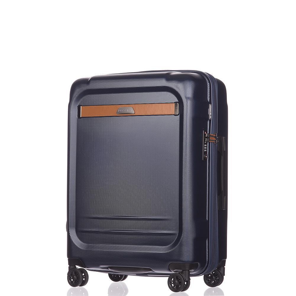6a696cbb224df Średnia walizka PUCCINI STOCKHOLM PC020B 7 Granatowa - Bagażownia.pl