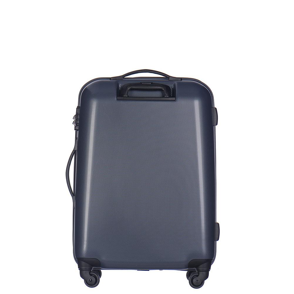 bc730c4298aca ... Średnia walizka PUCCINI VOYAGER PC005B 7B Ciemnoniebieska ...