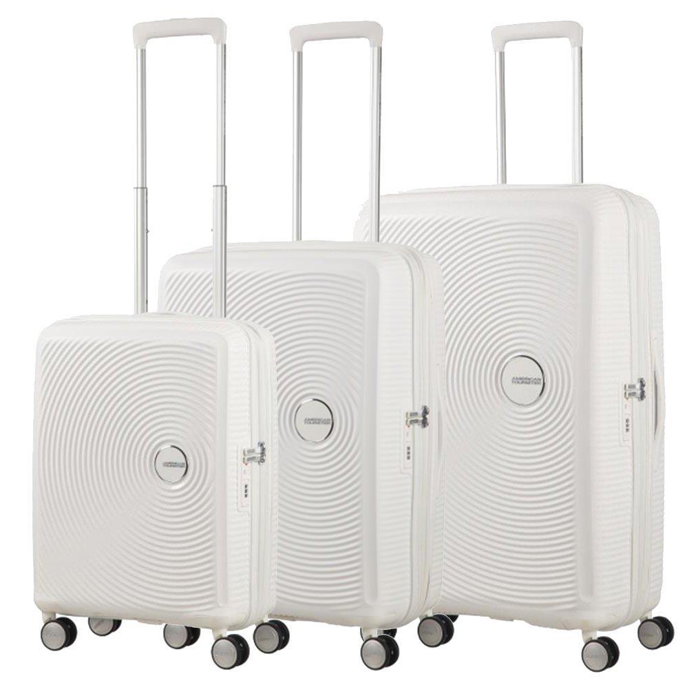 7d74201cfaaed Mała walizka kabinowa SAMSONITE AT SOUNDBOX 88472 Biała · Zestaw walizek  SAMSONITE AT SOUNDBOX Białe ...
