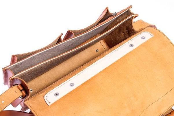 1861048b7c5a6 Klasyczna teczka   plecak Vintage P12 brąz - Bagażownia.pl