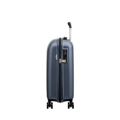 9a6ae7ca28022 Mała kabinowa walizka PUCCINI VOYAGER PC005C 7B Ciemnoniebieska ...