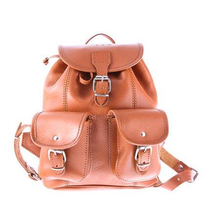 01fdd8af590f4 Mały plecak skórzany VOOC Vintage P2 Czarny - Bagażownia.pl